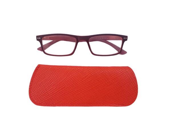 216 rdeč z očali